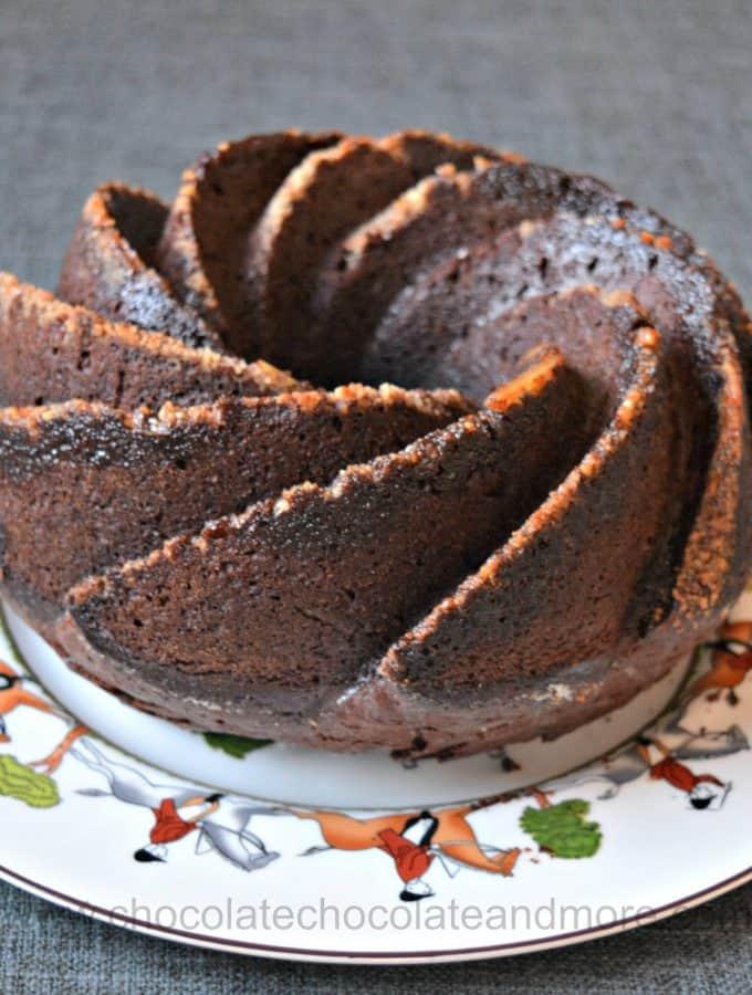 Chocolate Bacardi Rum Cake