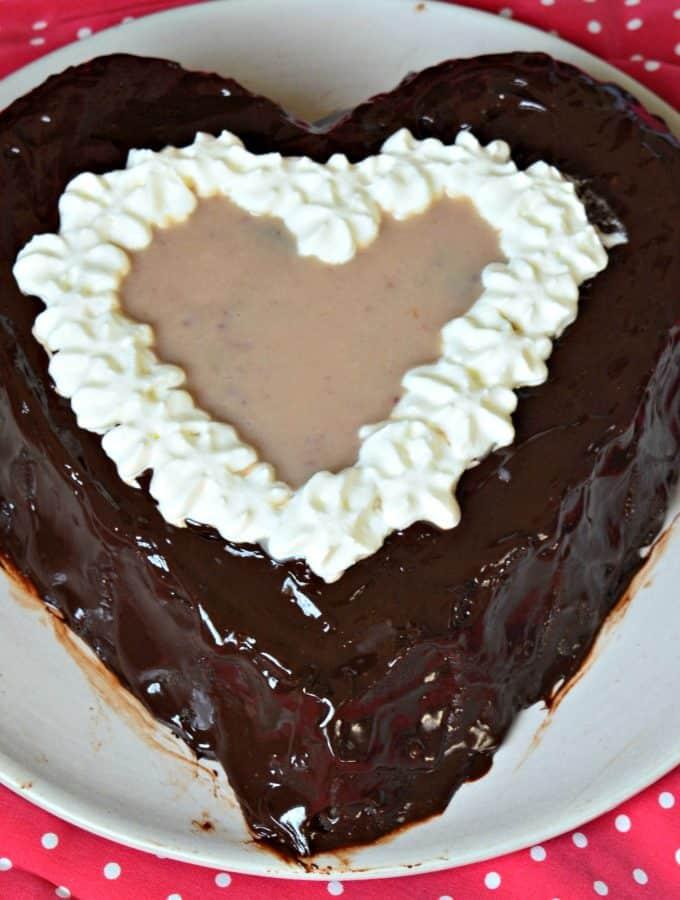 Chocolate Strawberry Bisquick Cake
