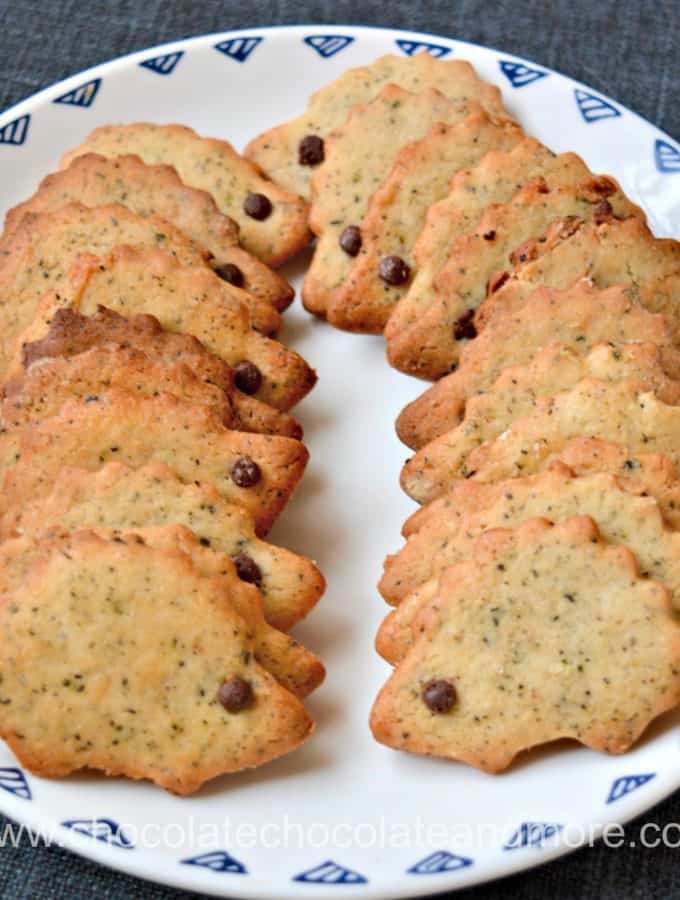 Cardamom Tea Leaf Cookies