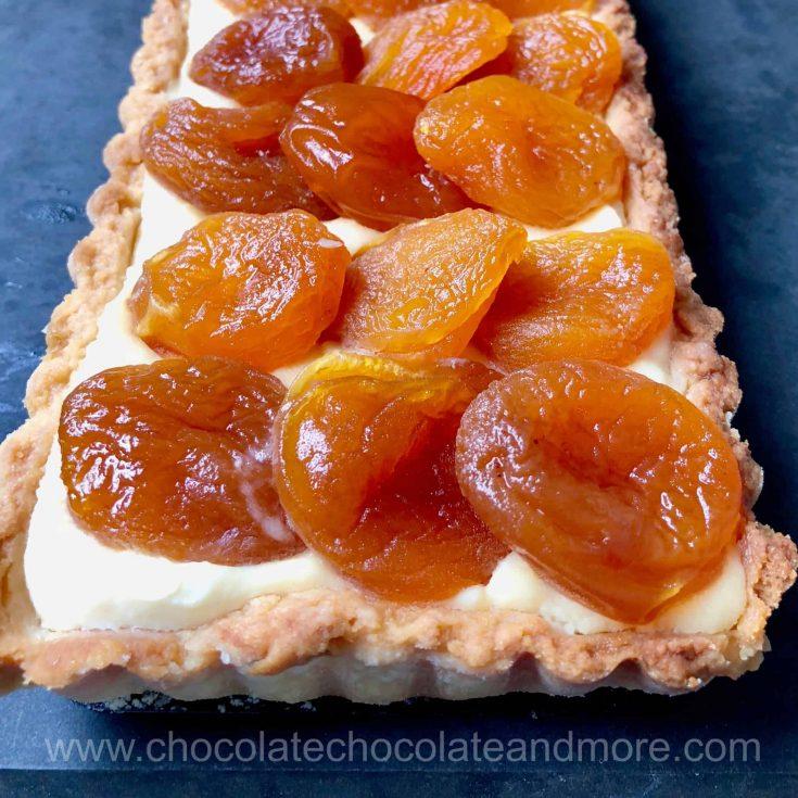 Apricot Mascarpone Tart
