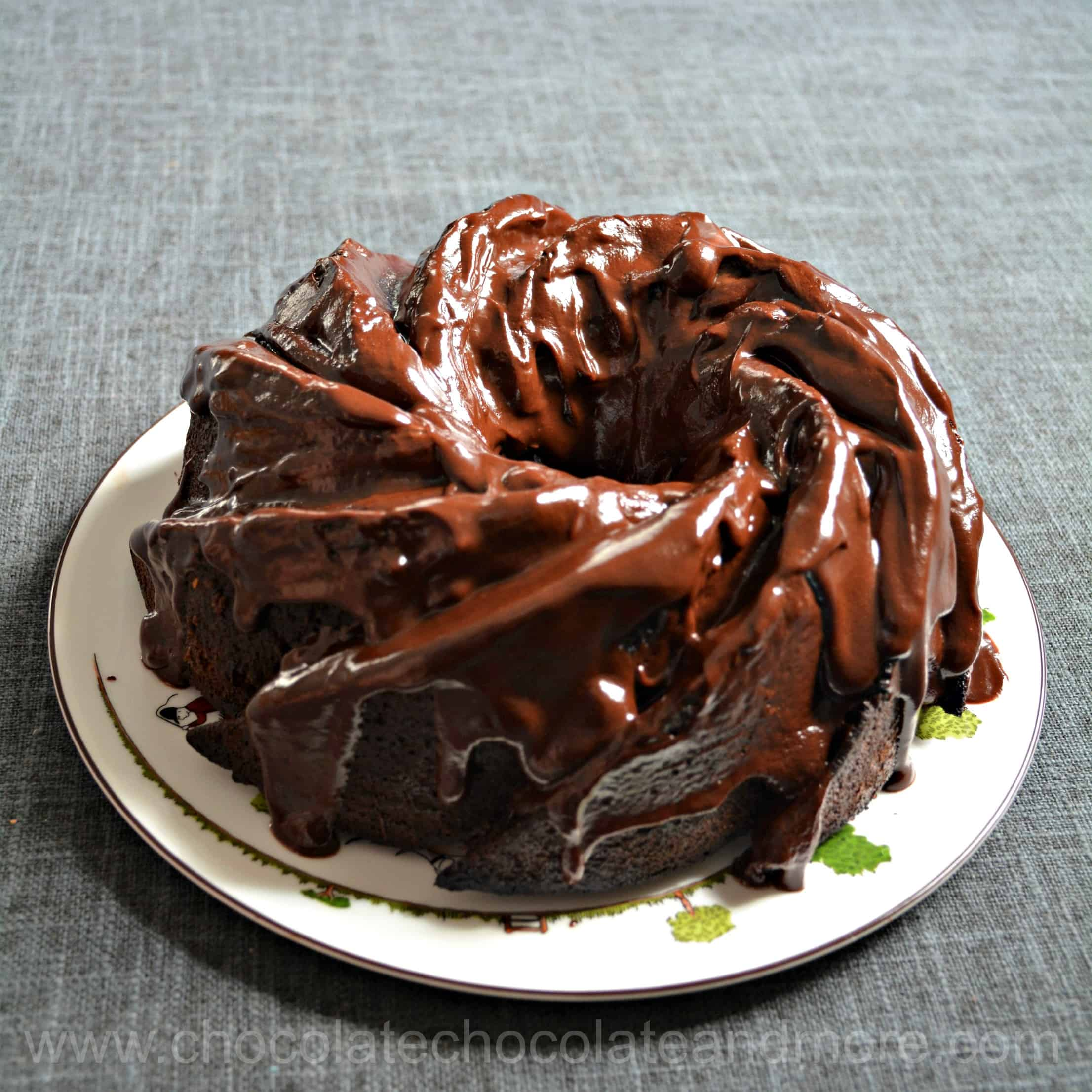 Triple Chocolate Bundt Cake From Scratch No Cake Mix