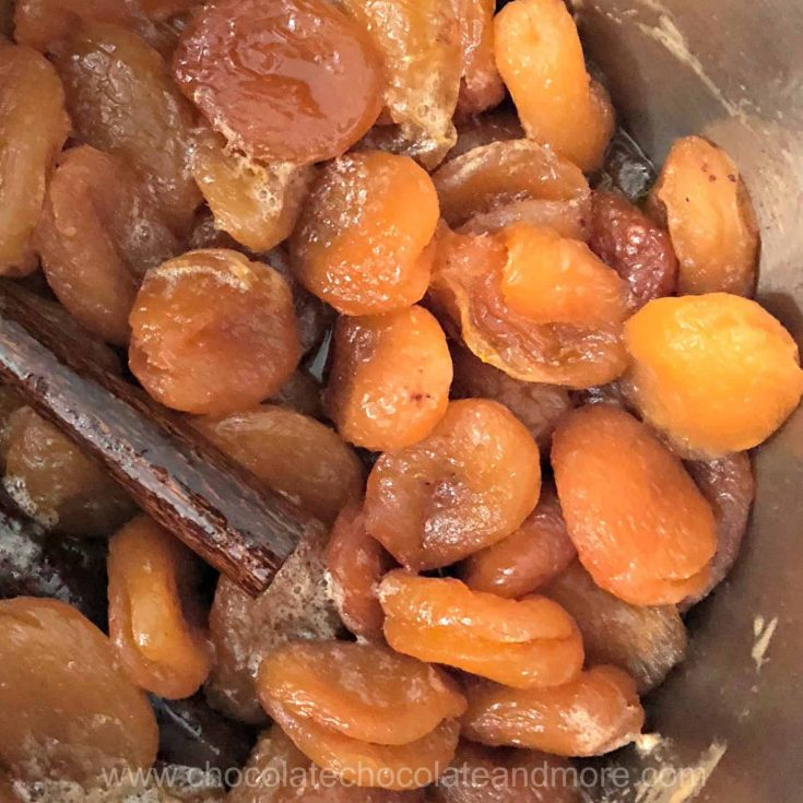 Mulled Apricots