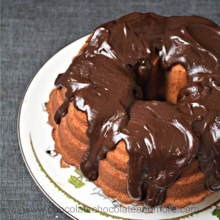 Coconut Marble Bundt Cake