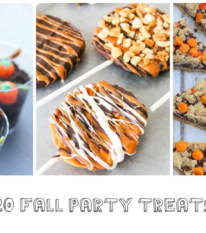 20 Fall Party Treats