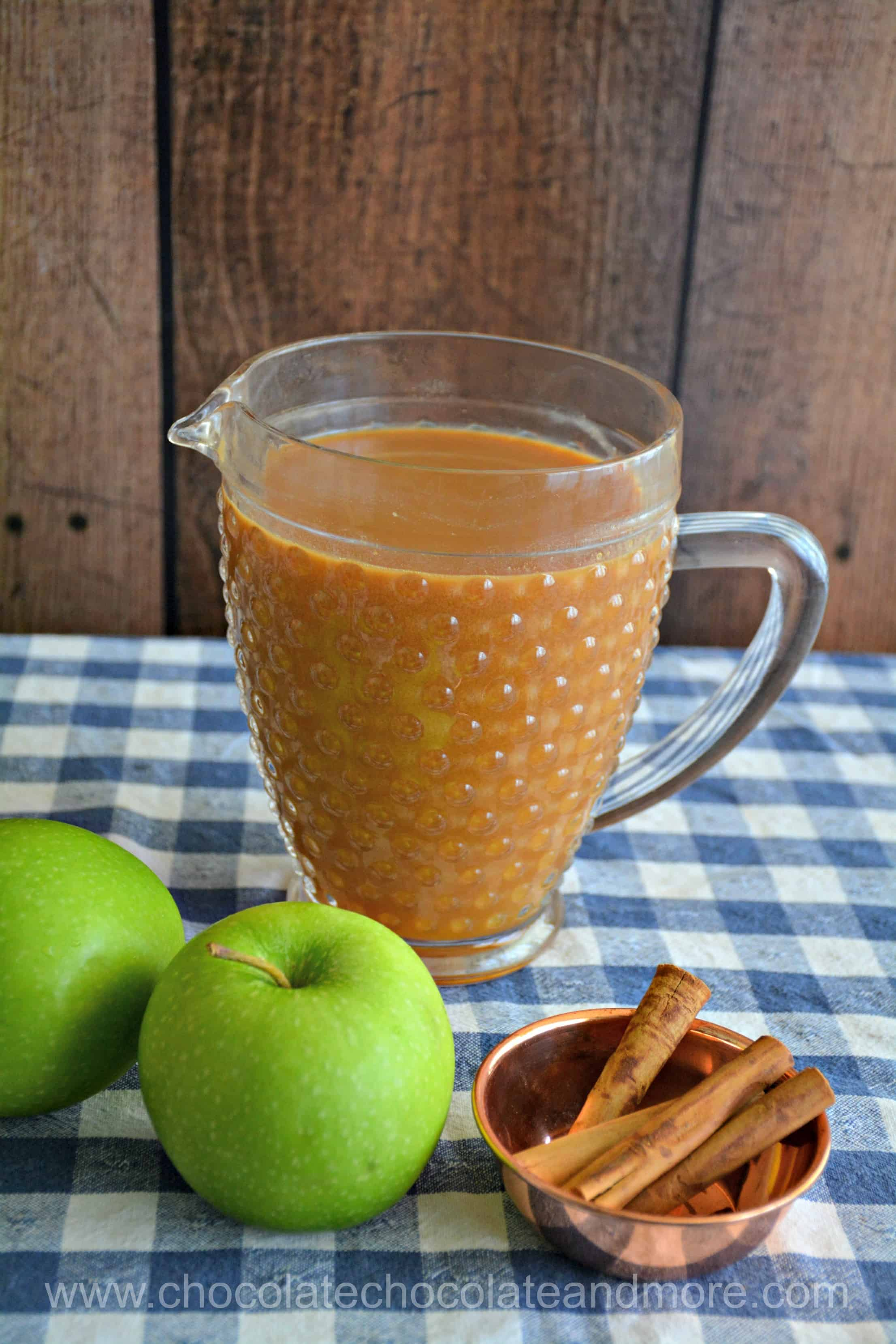 Caramel Apple Cider Pitcher