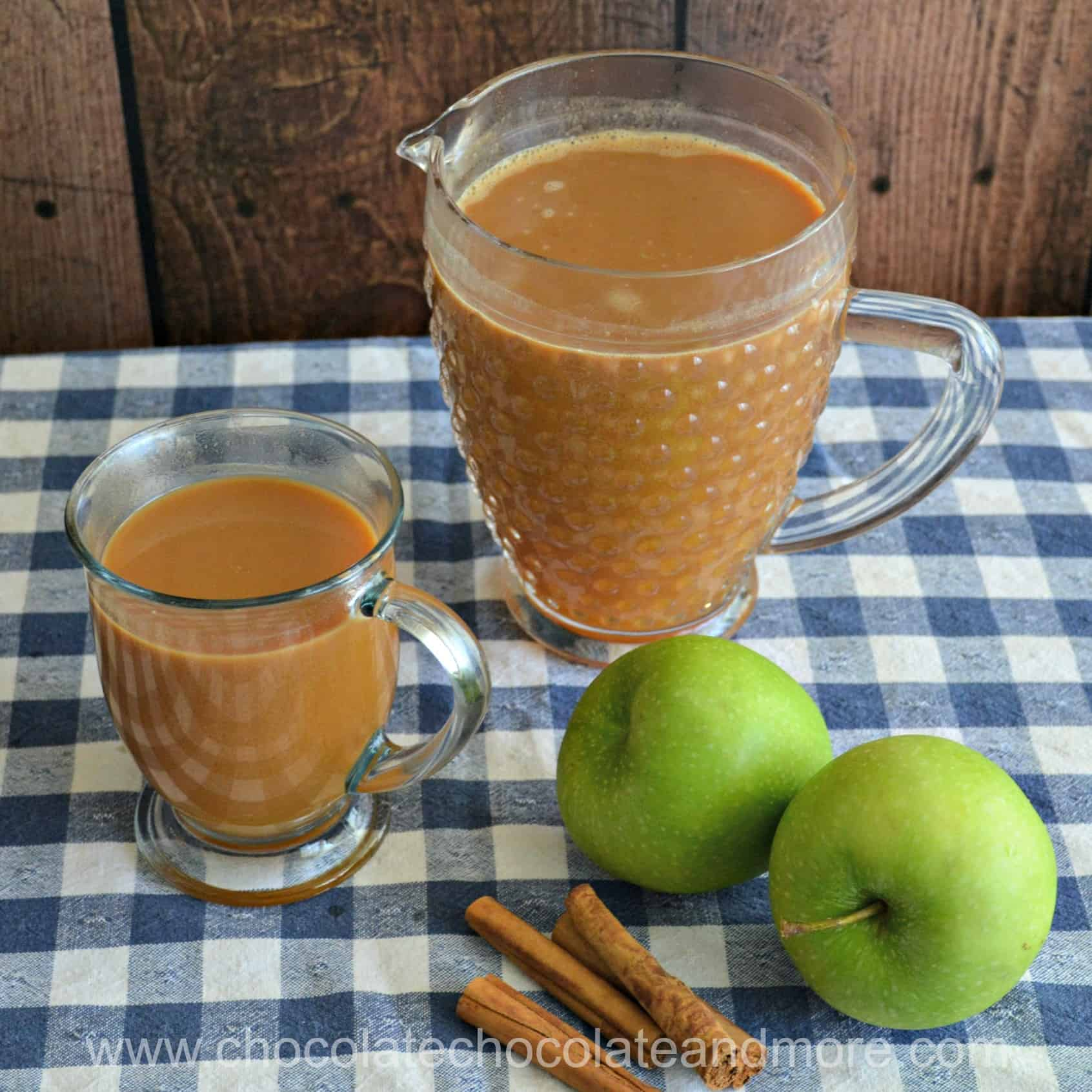 Caramel Apple Cider Mug and Pitcher