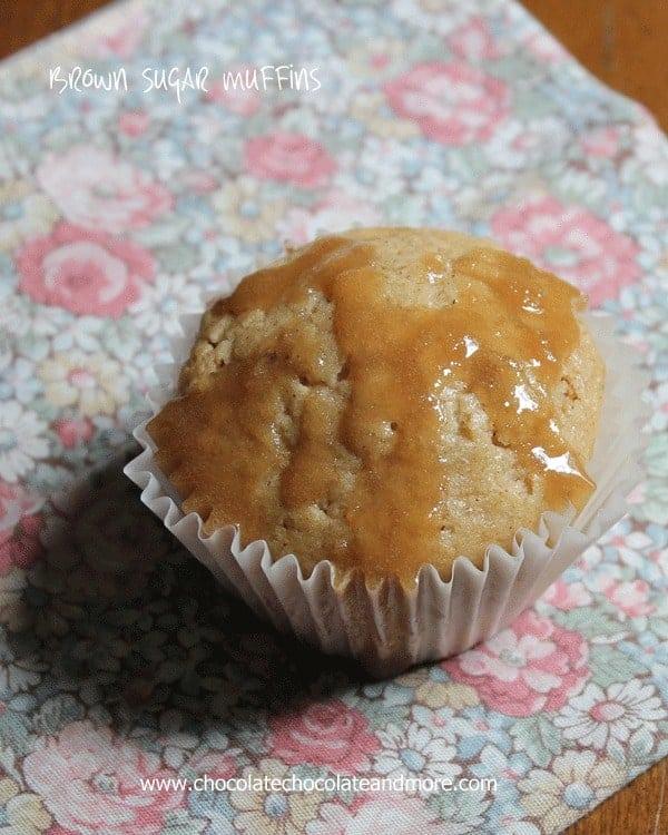 Brown Sugar Pecan Muffins