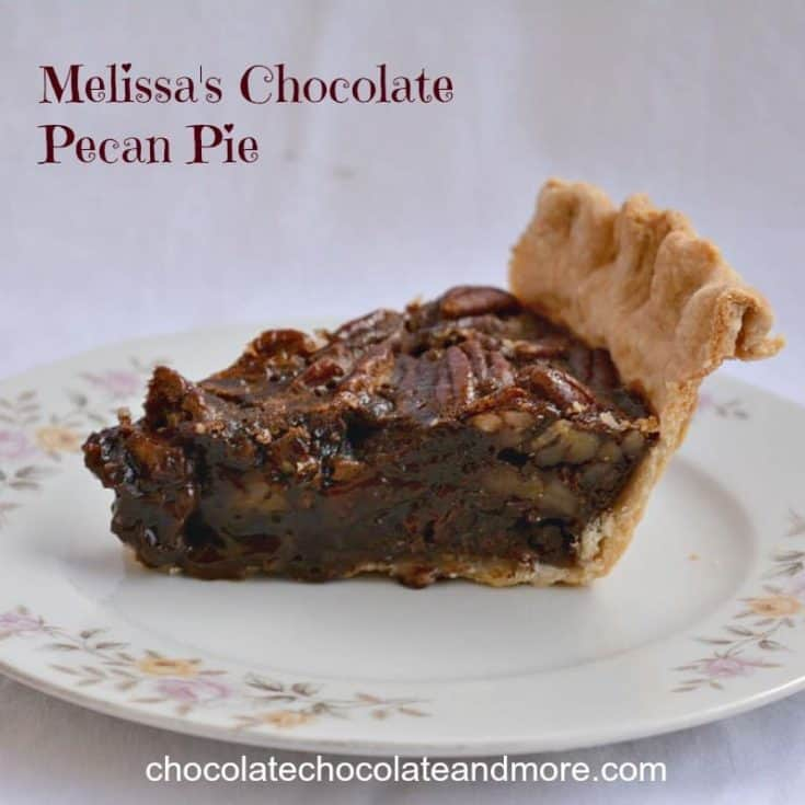 Melissa's Chocolate Pecan Pie