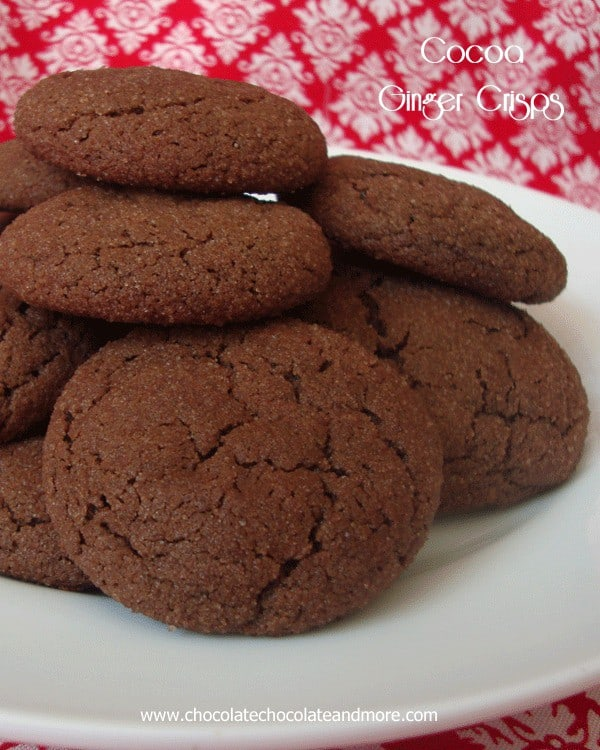 Cocoa Ginger Crisps