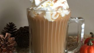 Copycat Starbucks Pumpkin Pie Latte