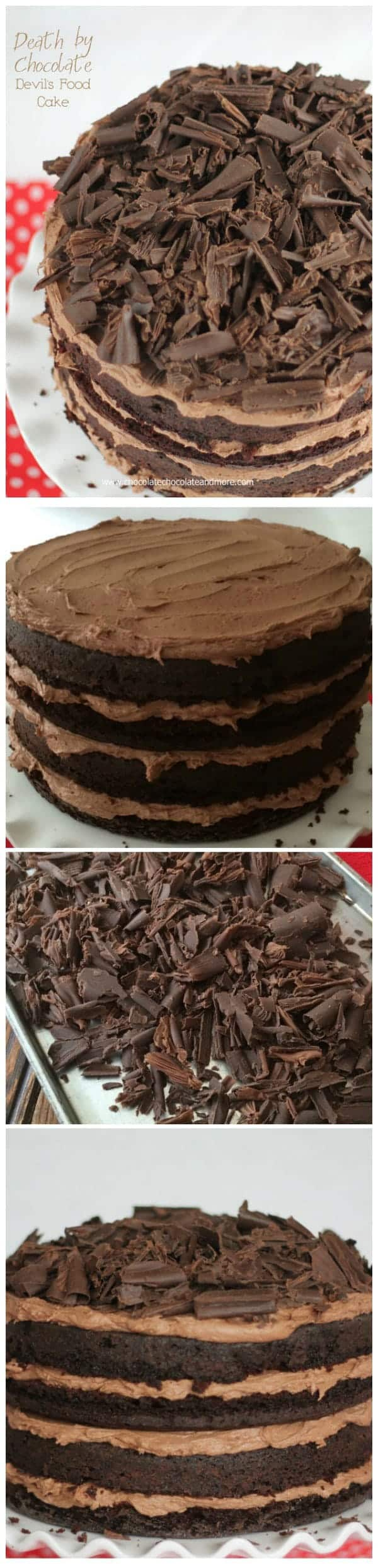 Death by Chocolate-Devil's Food Cake