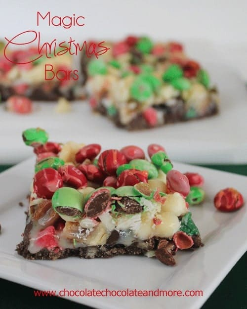Magic Christmas Bars