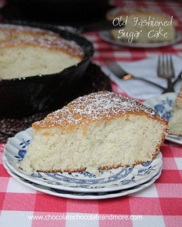 Old Fashioned Sugar Cake