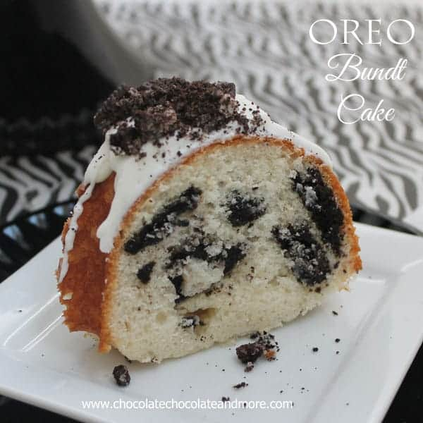 Oreo Cookies and Cream Bundt Cake
