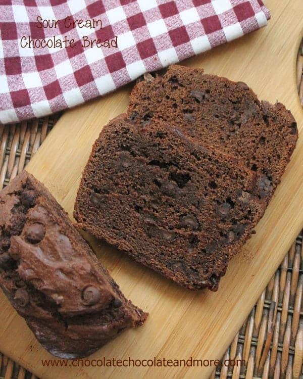 Sour Cream Chocolate Bread