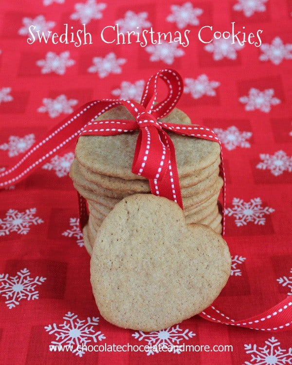 Swedish Christmas Cookies and a few tips