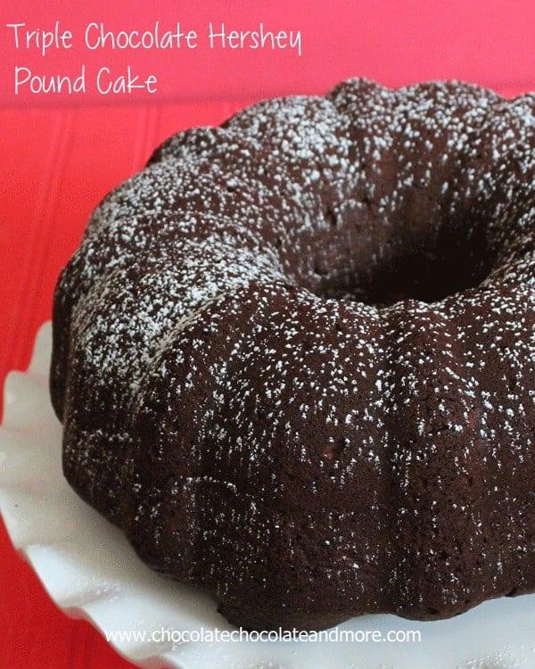 Triple Chocolate Hershey Cake