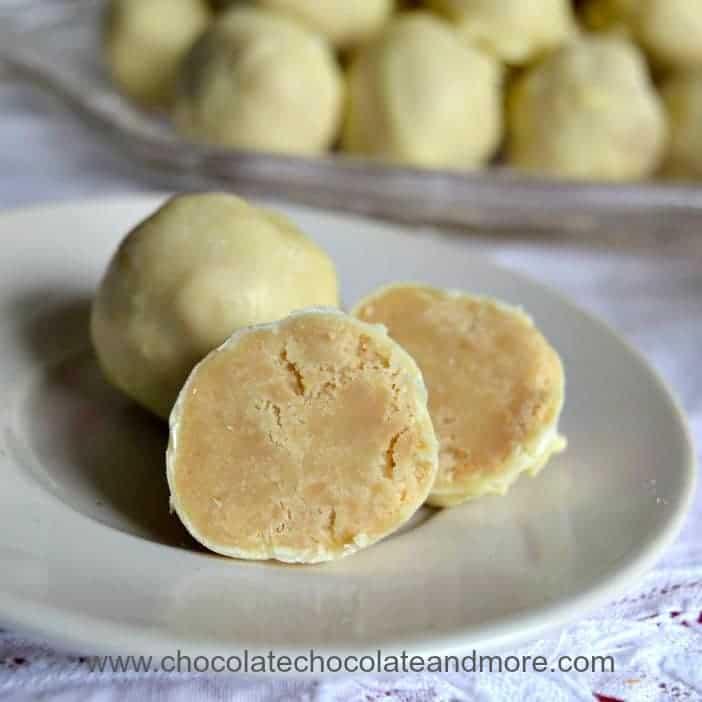 White Chocolate Chai Truffles