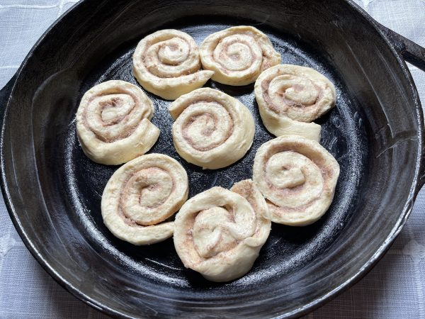cinnamon roll layer